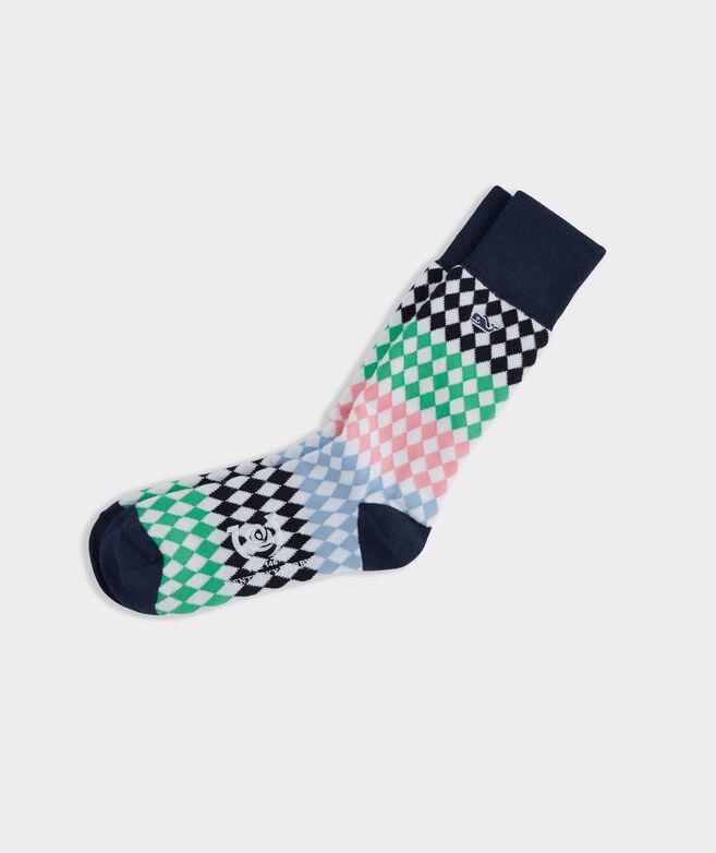 Diamond Stripe Socks