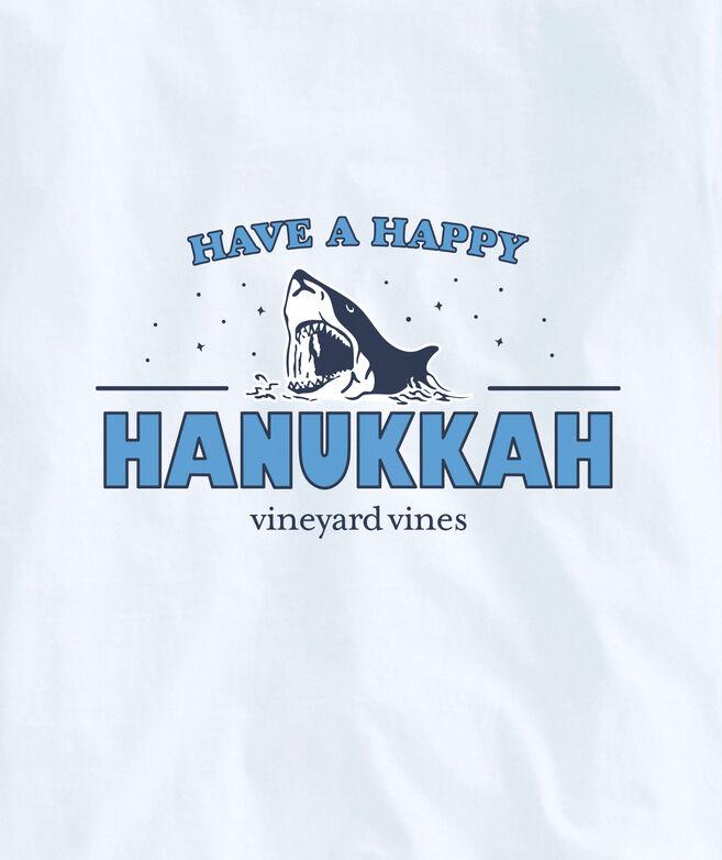 Adult Limited-Edition JAWS x vineyard vines Hanukkah Long-Sleeve Pocket Tee