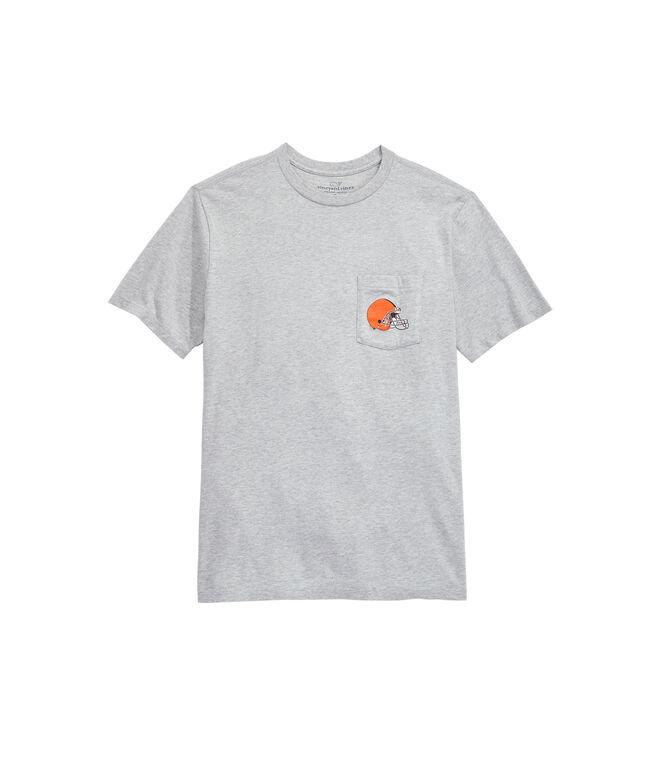 Cleveland Browns Block Stripe T-Shirt