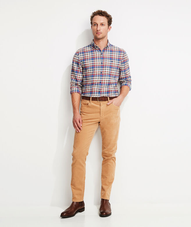 Corduroy 5-Pocket Pants