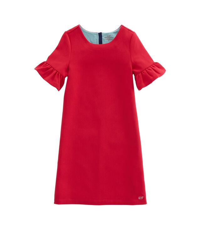 Girls Bell Sleeve Party Dress