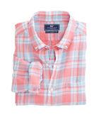 Atlantis Club Plaid Classic Linen Murray Shirt