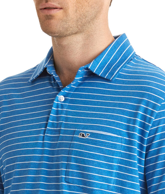 Open Feeder Stripe Classic Polo