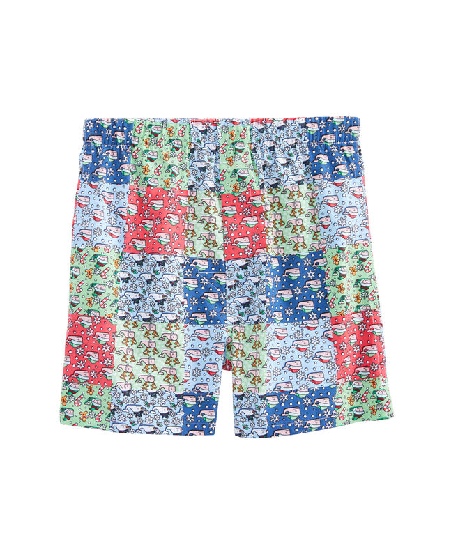 Boys Patchwork Whale Boxers
