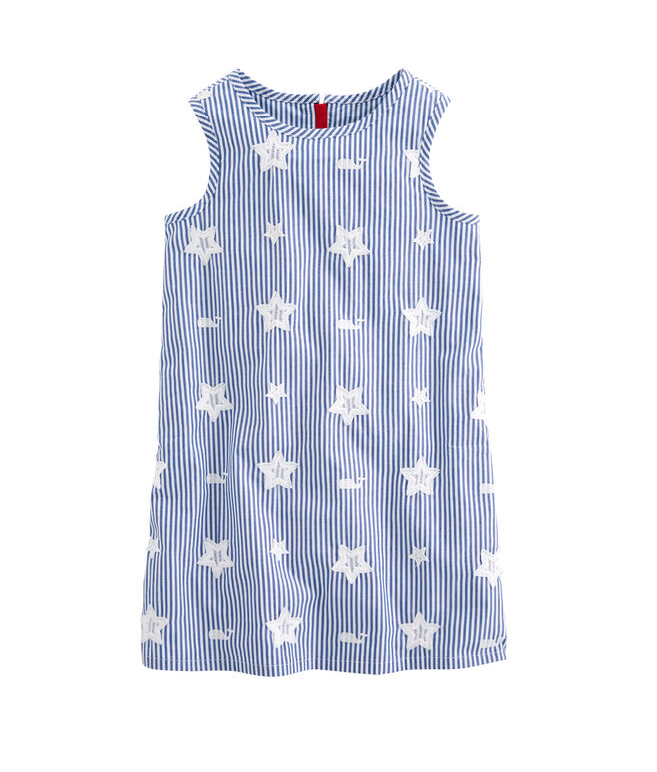 Girls Stars & Whales Shift Dress