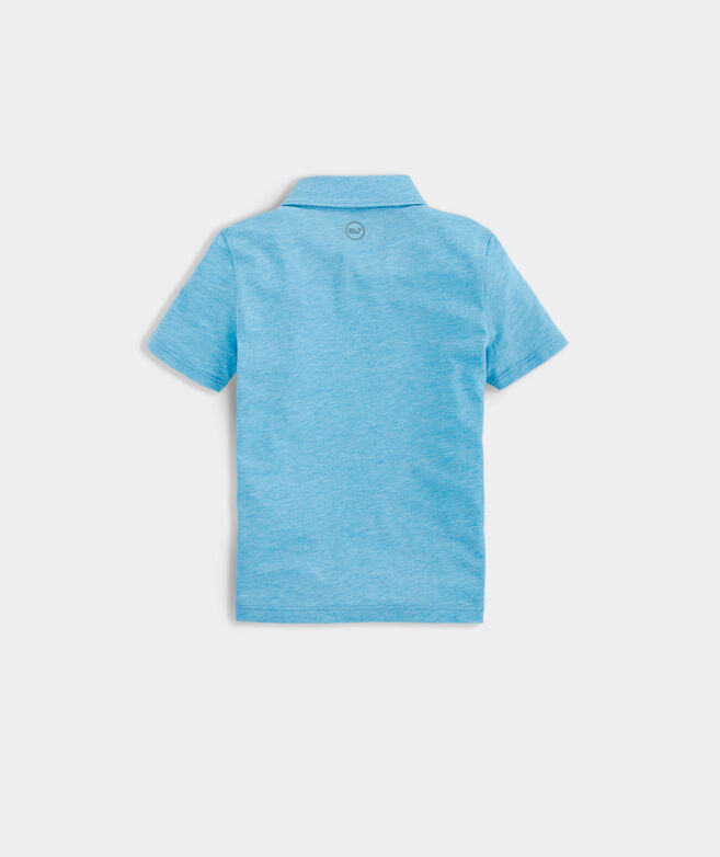 Boys' Carmel Heather Polo