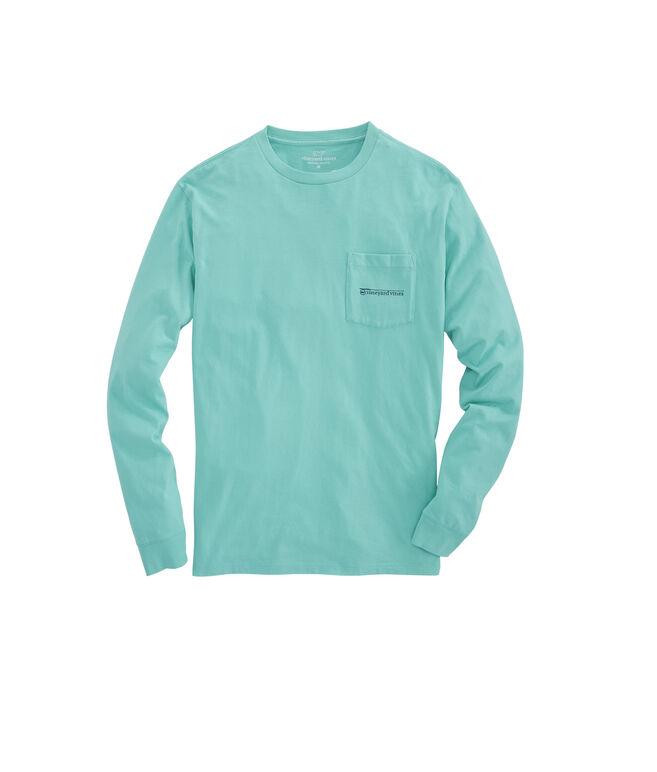 Long-Sleeve Fishing Rod Pocket T-Shirt
