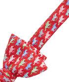 Horse Silks Bow Tie