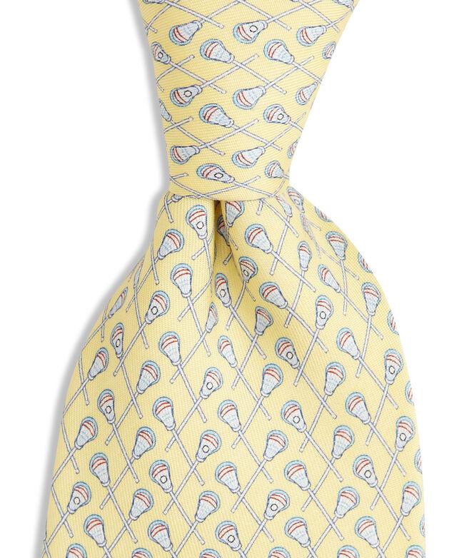 Boys Lacrosse Printed Tie