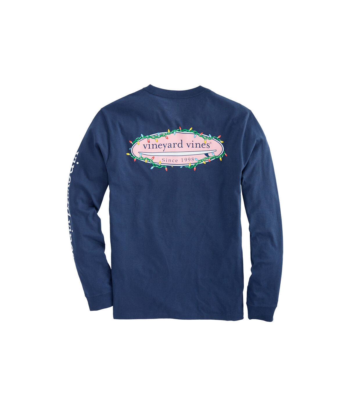 Vineyard Vines Long-Sleeve Surf Lights Pocket T-Shirt