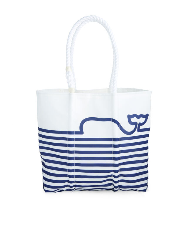 Sea Bags Whale Line Chappy Tote