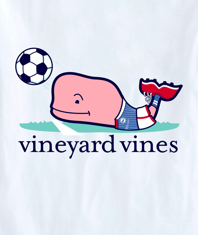 OUTLET Kids' Soccer Player Whale Short-Sleeve Pocket Tee