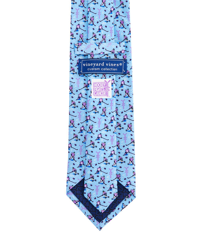 Hockey Fights Cancer Tie At Vineyard Vines. Men S Hockey Fights Cancer  Necktie. Men S Hockey Fights Cancer Necktie Wells Fargo Center Official 0d2ad69f5