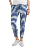 Heather Stripe Knit Beach Pants