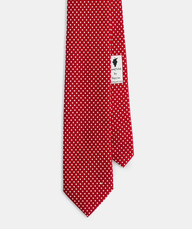 Polka Dot Printed Tie