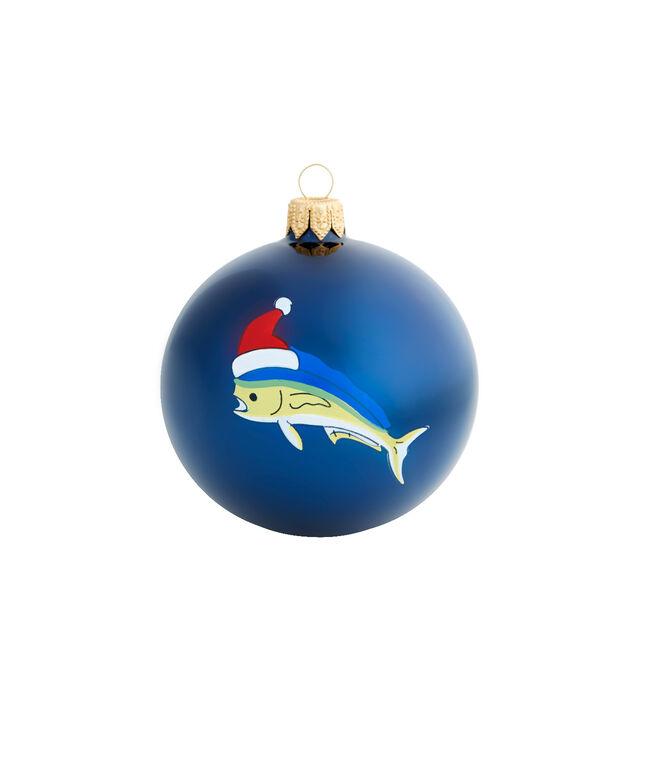 Mahi Christmas Globe Ornament