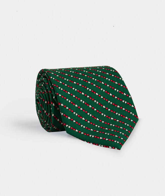 Popcorn Garland Printed Tie