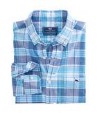 Smith Point Plaid Classic Tucker Shirt