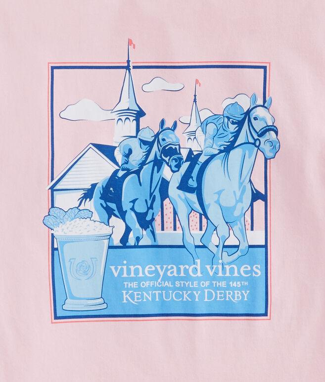 Kentucky Derby Around The Bend Pocket T-Shirt