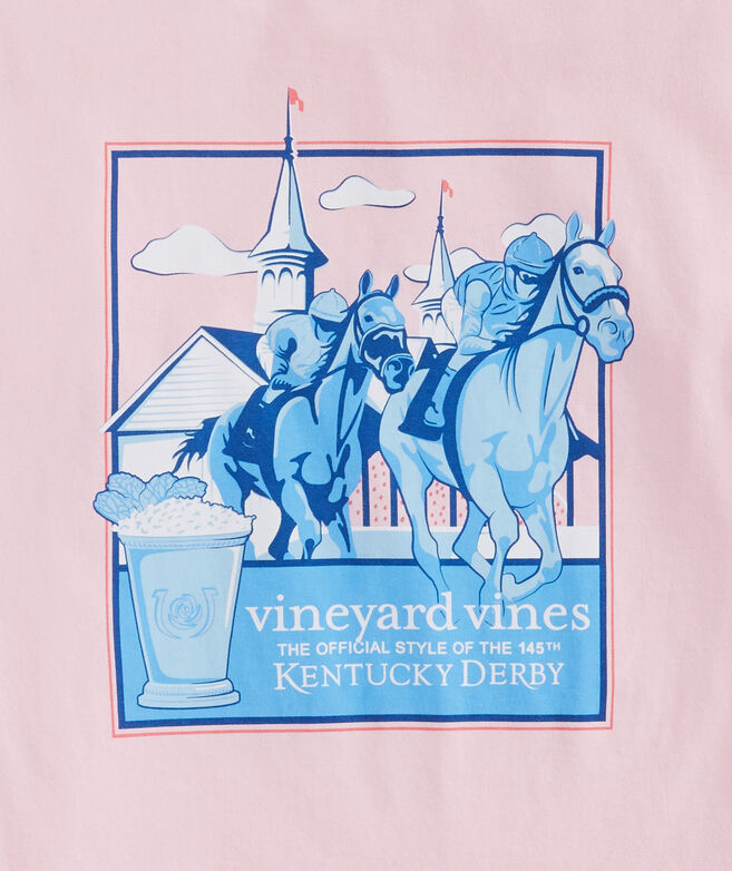 Kentucky Derby Around The Bend Pocket T-Shirt
