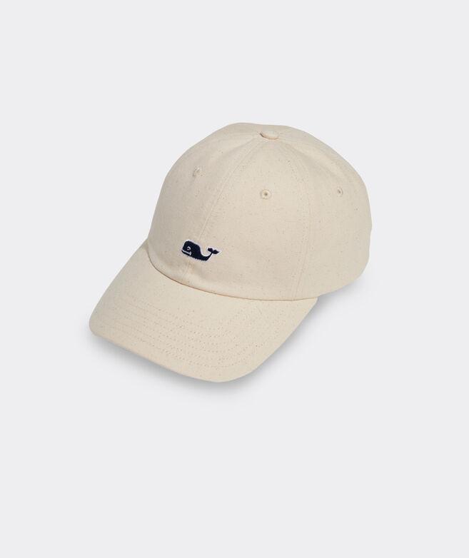 Flecked Canvas Classic Baseball Hat
