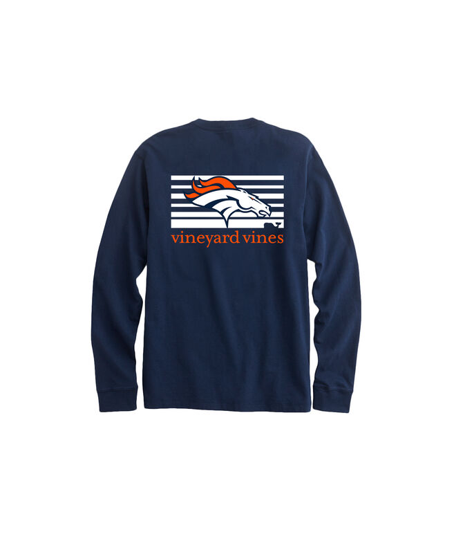 Denver Broncos Long-Sleeve EDSFTG Tee