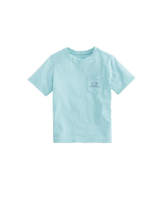Boys Edgartown Shep Stripe Vintage Whale T-Shirt