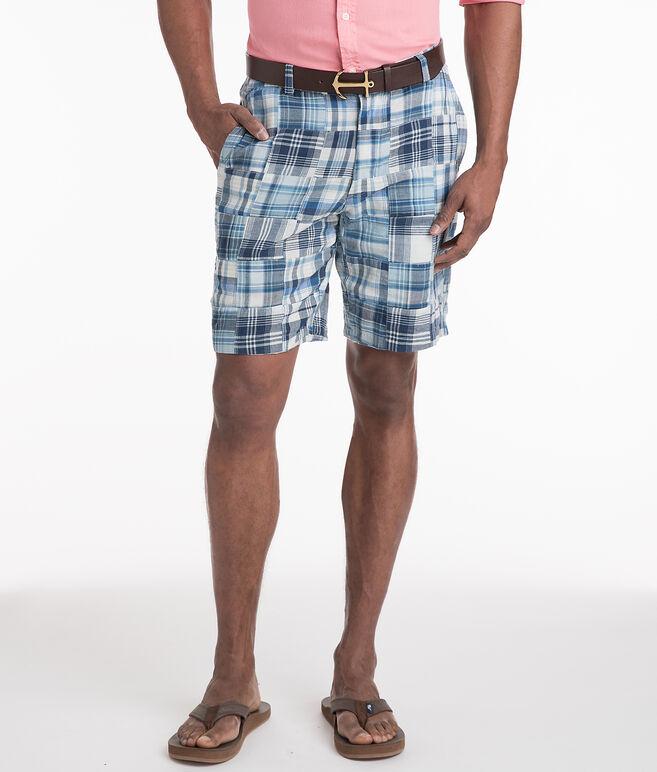 9 Inch Madras Shorts