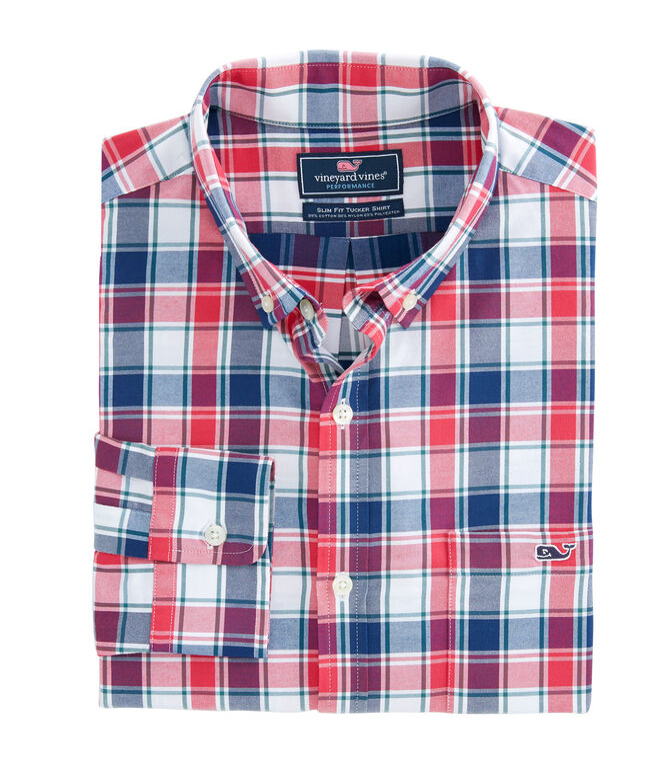 Carroll's Way Performance Classic Tucker Shirt