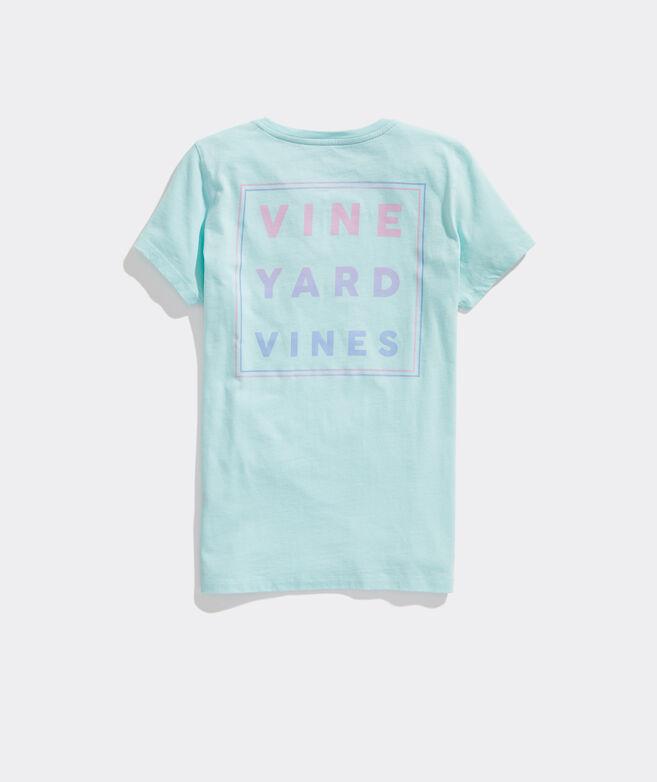 vineyard vines Logo Pocket Tee