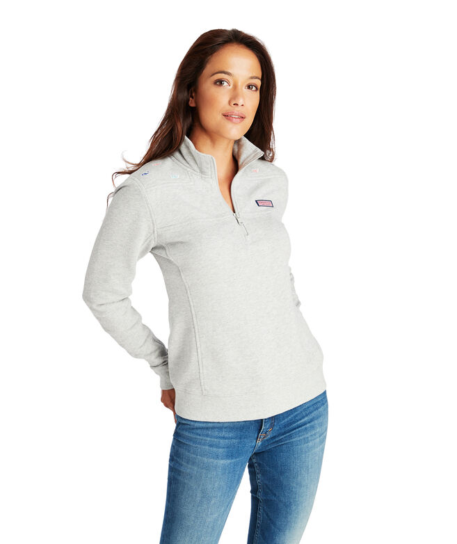 Party Whale Embroided Shep Shirt