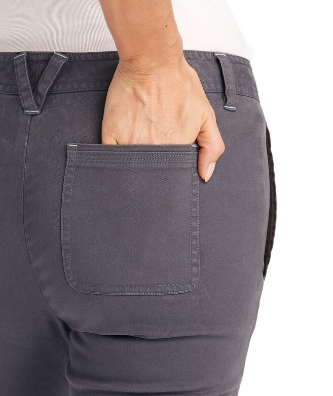 High Waisted Utility Pants
