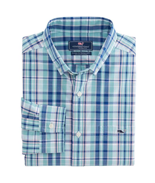 Gibbs Hill Plaid Classic Tucker Shirt