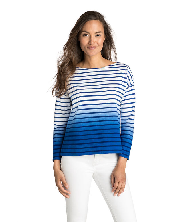 Dip Dye Stripe Top