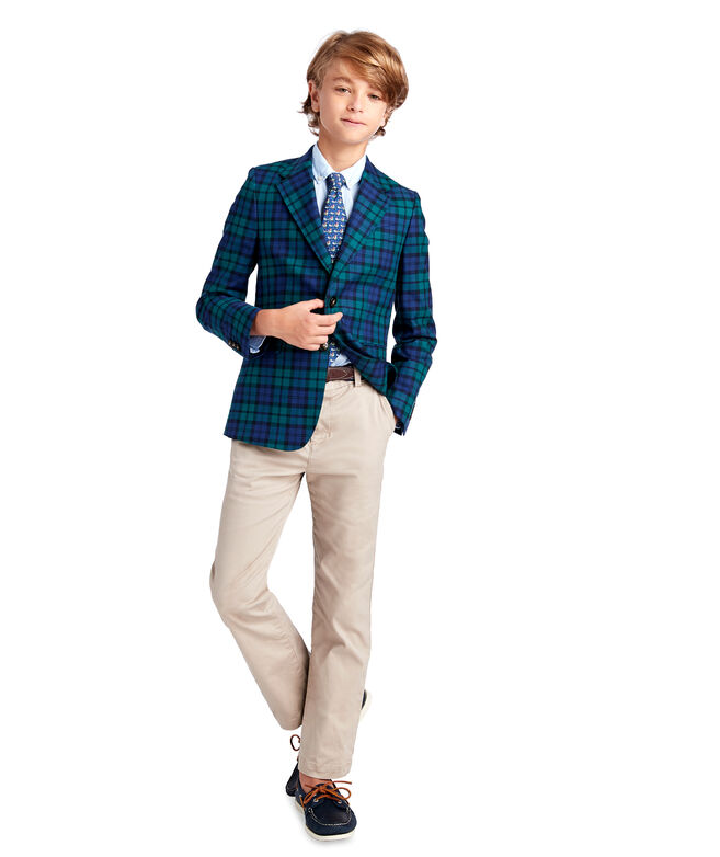 Boys Blackwatch Blazer (8-18)