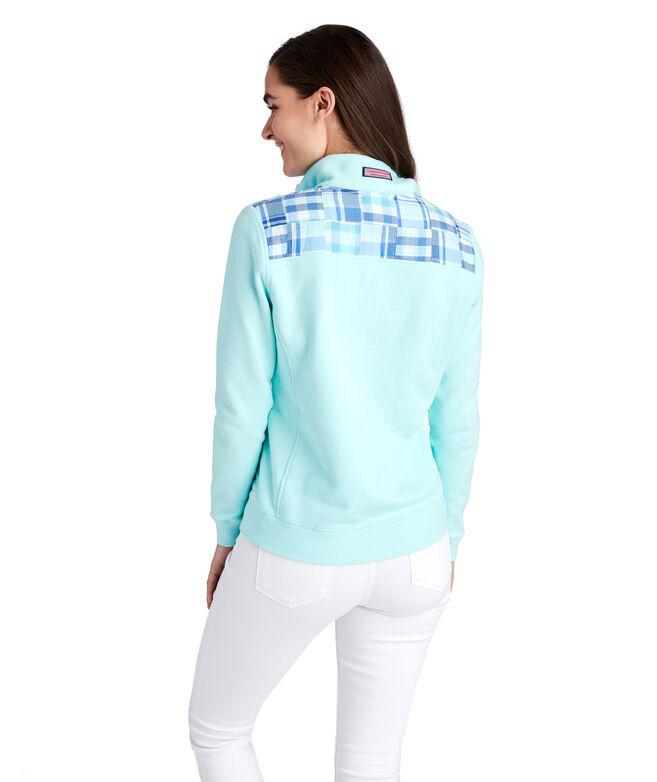 Madras Patchwork Classic Shep Shirt
