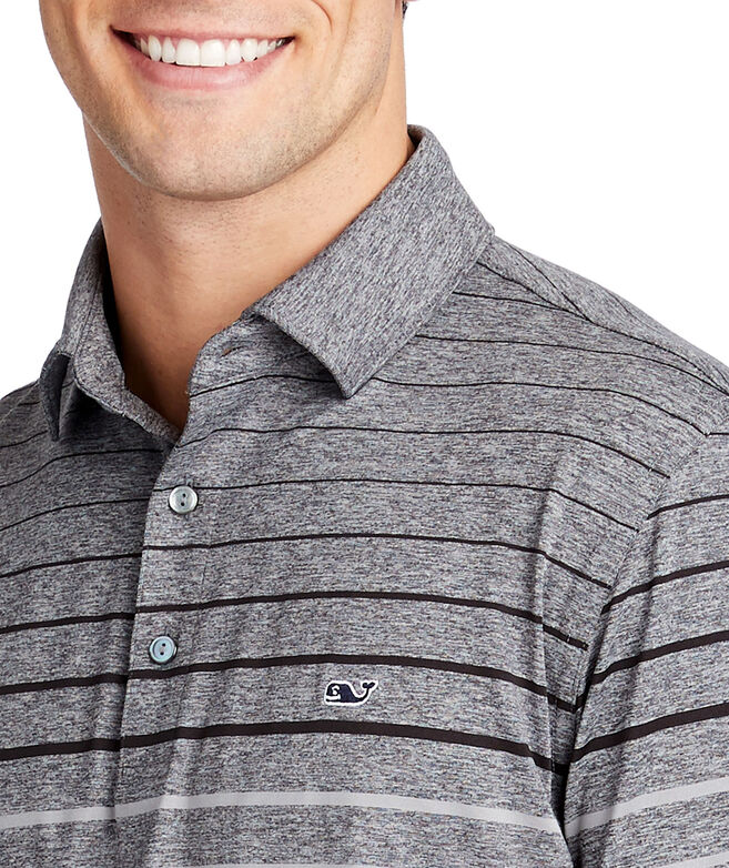 Pinecrest Stripe Sankaty Performance Polo