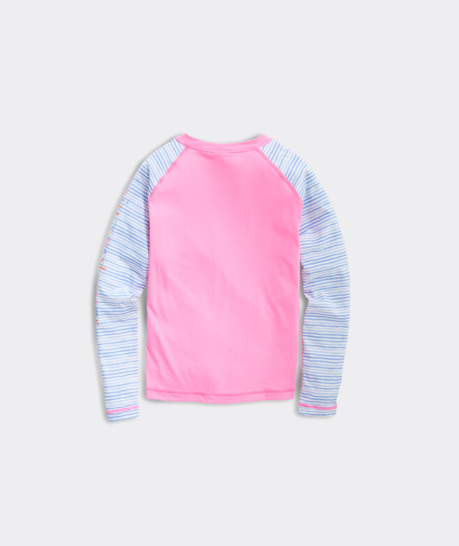 Girls' Colorblocked Rashguard