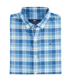 Boys Atlantic Coast Beach Tartan Whale Shirt