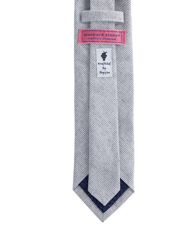 Pinstripe Woven Tie