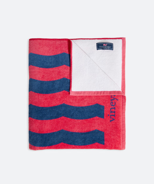 Waving Flag Terry Towel