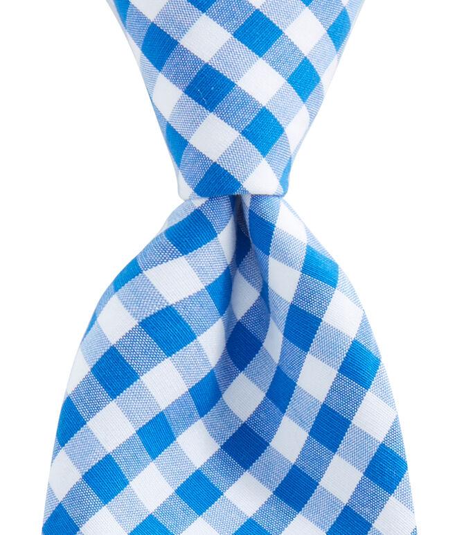 Kennedy Gingham Shirting Skinny Tie