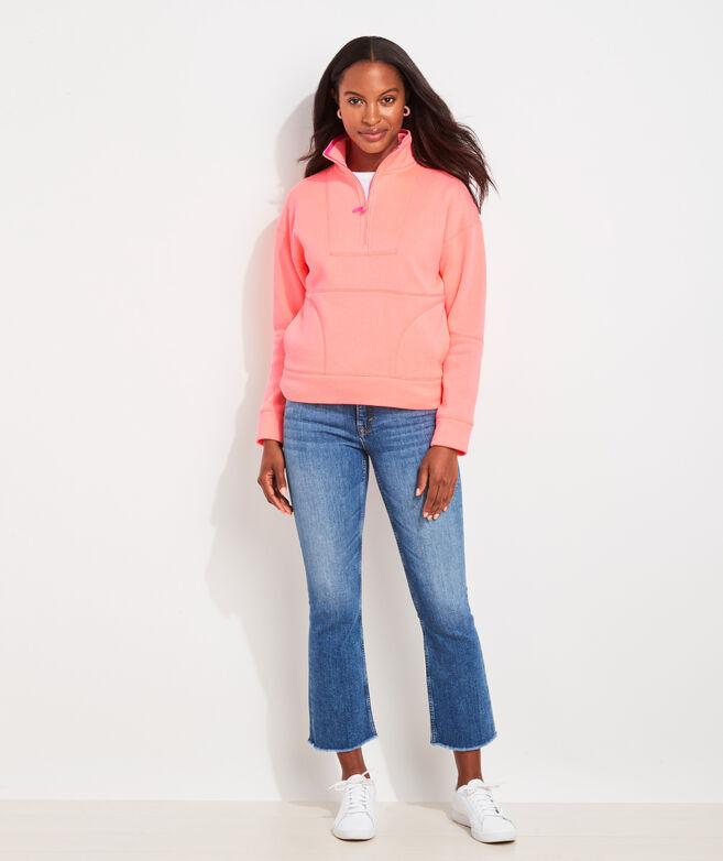 Retro Sweater Fleece Half-Zip