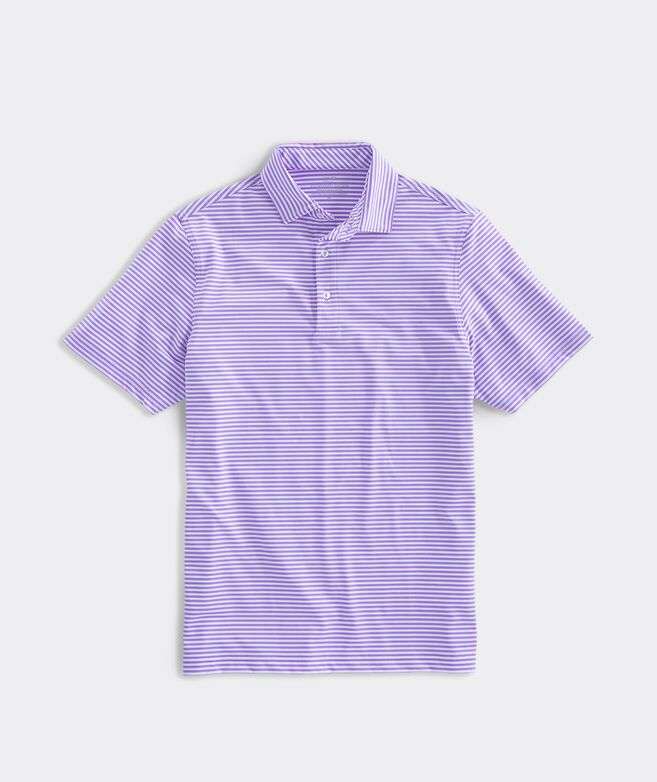 Men's Blank Winstead Stripe Sankaty Performance Polo