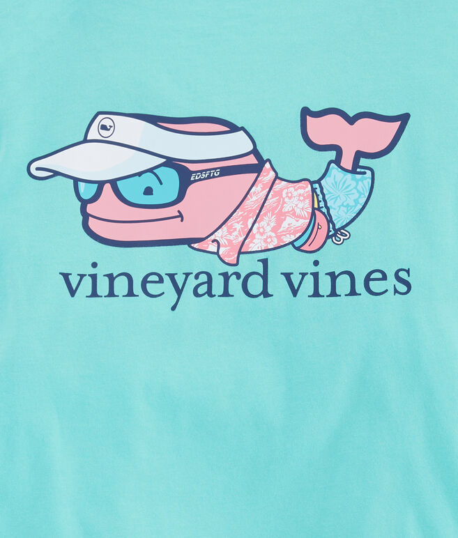 Boys Vacation Whale Pocket T-Shirt