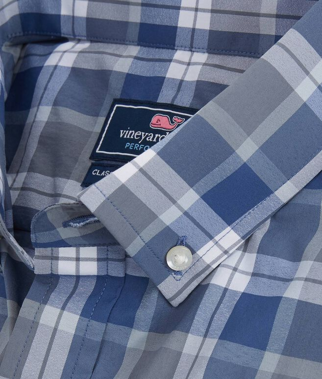 Lighthouse Plaid Performance Classic Murray Shirt
