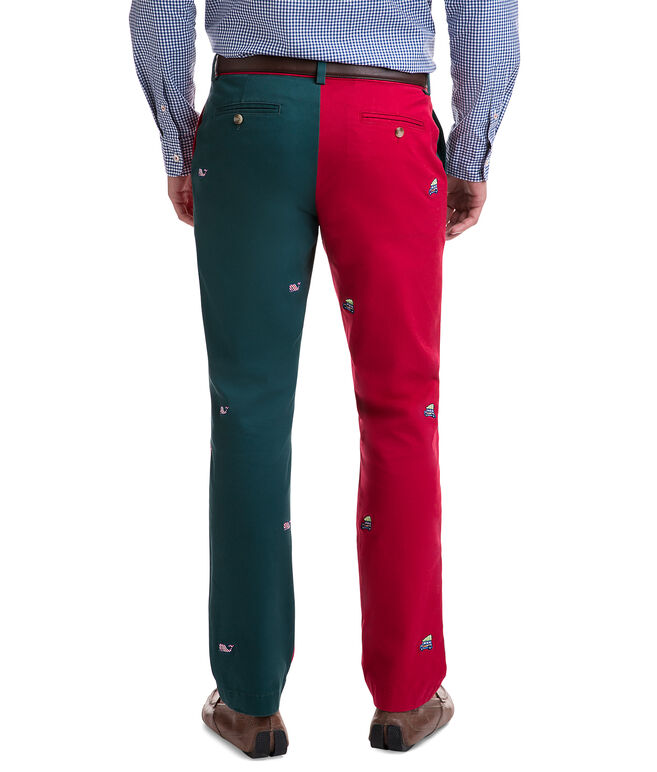 Party Embroidered  Breaker Pants