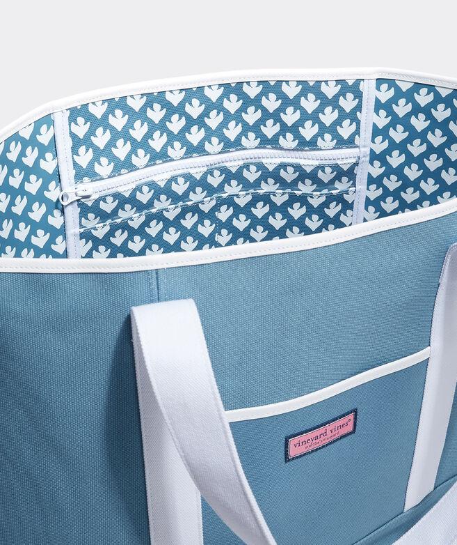 Gustavia Block Print Large Classic Tote Bag