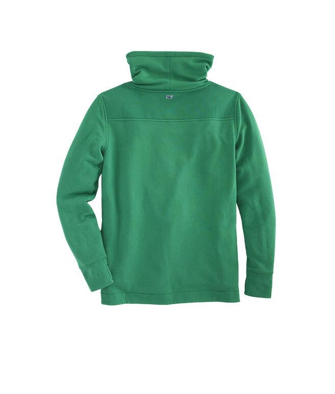 Collegiate Relaxed Funnel Neck Shep Shirt