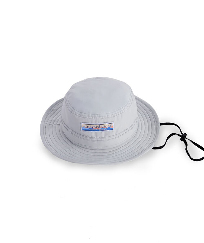 Wave Patch Performance Bucket Hat